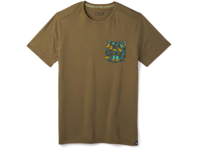 Smartwool Merino 150 Camiseta Bolsillo Hombre, military olive